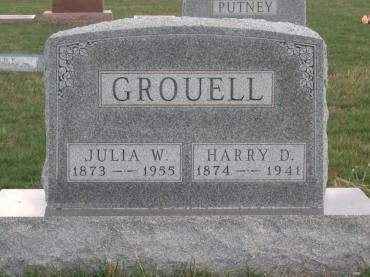 GROUELL, HARRY DAVID - Madison County, Iowa | HARRY DAVID GROUELL