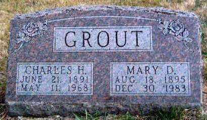 GROUT, CHARLES HENRY - Madison County, Iowa | CHARLES HENRY GROUT