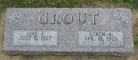 GROUT, LOIS F. - Madison County, Iowa | LOIS F. GROUT