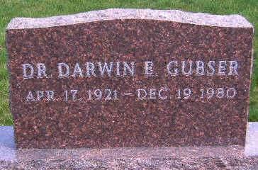 GUBSER, DARWIN EDWARD - Madison County, Iowa | DARWIN EDWARD GUBSER