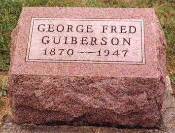 GUIBERSON, GEORGE FRED - Madison County, Iowa | GEORGE FRED GUIBERSON