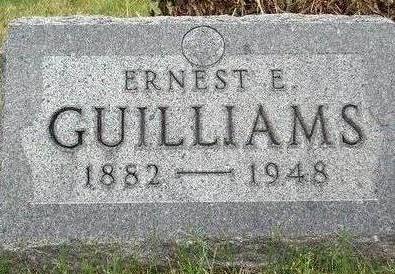 GUILLIAMS, ERNEST E. - Madison County, Iowa   ERNEST E. GUILLIAMS