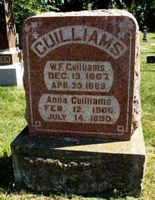 GUILLIAMS, ANNA - Madison County, Iowa | ANNA GUILLIAMS