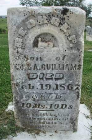 GUILLIAMS, GEORGE P. - Madison County, Iowa | GEORGE P. GUILLIAMS