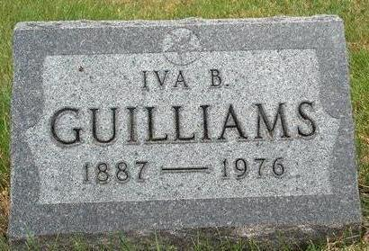 GUILLIAMS, IVA D. - Madison County, Iowa | IVA D. GUILLIAMS