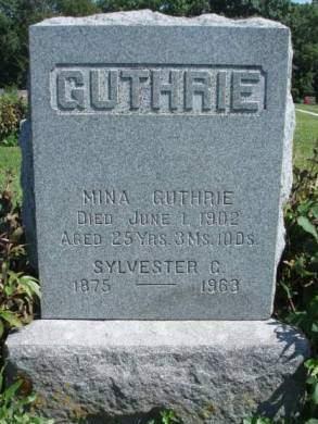 GUTHRIE, SARAH MINA - Madison County, Iowa | SARAH MINA GUTHRIE
