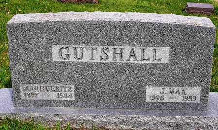 GUTSHALL, MARGUERITE LUCY - Madison County, Iowa   MARGUERITE LUCY GUTSHALL