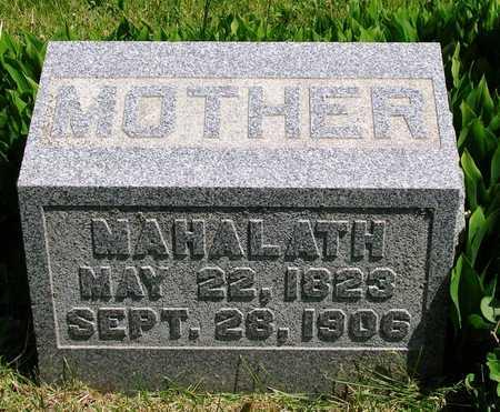 GUTSHALL, MAHALATH - Madison County, Iowa | MAHALATH GUTSHALL
