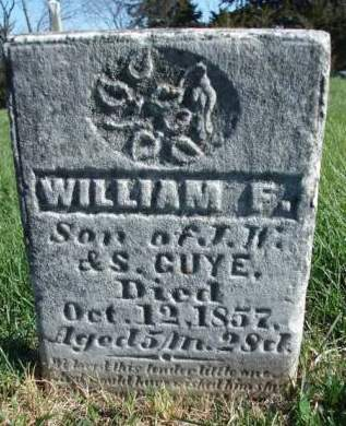 GUYE, WILLIAM F. - Madison County, Iowa | WILLIAM F. GUYE