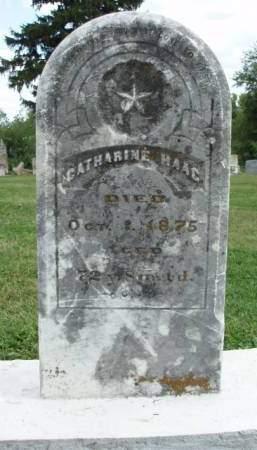 HAAG, CATHARINE - Madison County, Iowa | CATHARINE HAAG