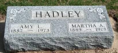 HADLEY, AMY LUELLA - Madison County, Iowa | AMY LUELLA HADLEY