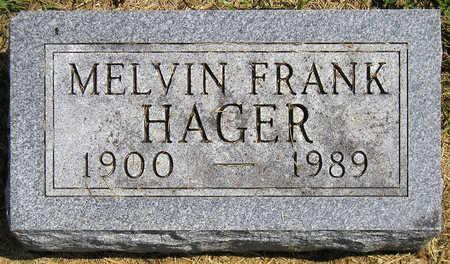 HAGER, MELVIN FRANK - Madison County, Iowa | MELVIN FRANK HAGER
