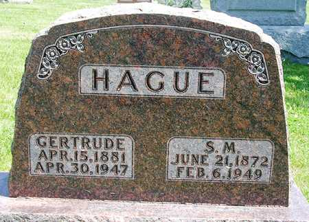 HAGUE, SAMUEL M. - Madison County, Iowa | SAMUEL M. HAGUE