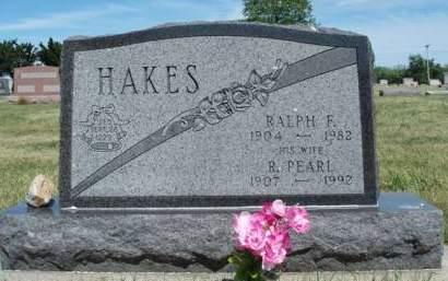 HAKES, RILLA PEARL - Madison County, Iowa | RILLA PEARL HAKES