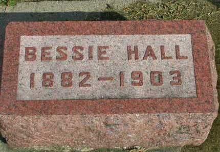 HALL, BESSIE - Madison County, Iowa | BESSIE HALL