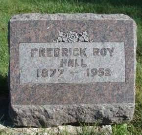 HALL, FREDRICK ROY - Madison County, Iowa | FREDRICK ROY HALL