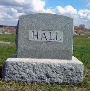 HALL, FAMILY STONE - Madison County, Iowa | FAMILY STONE HALL