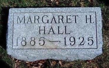 HALL, MARGARET H. - Madison County, Iowa   MARGARET H. HALL