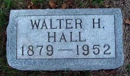 HALL, WALTER HENRY - Madison County, Iowa | WALTER HENRY HALL
