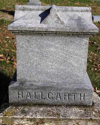 HALLGARTH, FAMILY HEADSTONE - Madison County, Iowa | FAMILY HEADSTONE HALLGARTH