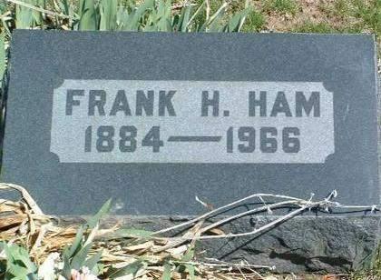 HAM, FRANK HENRY - Madison County, Iowa | FRANK HENRY HAM
