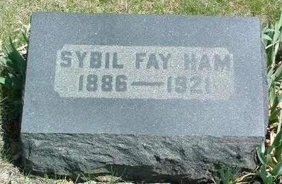 HAM, SYBIL FAYE - Madison County, Iowa | SYBIL FAYE HAM