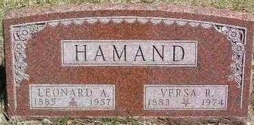HAMAND, LEONARD A. - Madison County, Iowa | LEONARD A. HAMAND