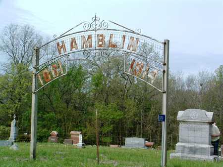 HAMBLIN, CEMETERY - Madison County, Iowa | CEMETERY HAMBLIN