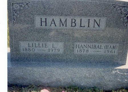 HAMBLIN, LILLIE LEONA - Madison County, Iowa   LILLIE LEONA HAMBLIN