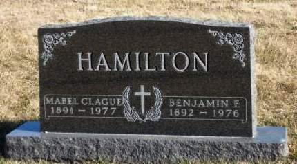 HAMILTON, BENJAMIN FRANKLIN - Madison County, Iowa | BENJAMIN FRANKLIN HAMILTON