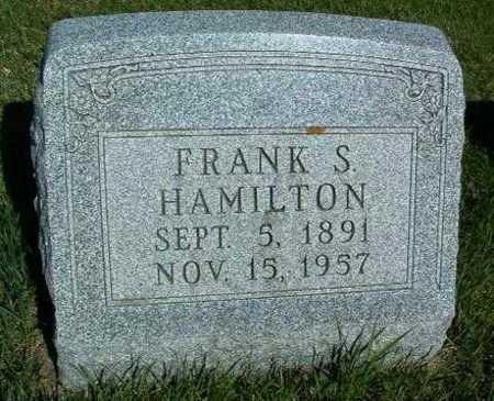 HAMILTON, FRANK S. - Madison County, Iowa   FRANK S. HAMILTON