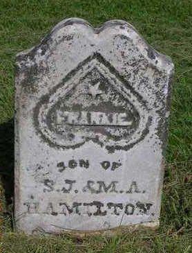 HAMILTON, FRANKIE - Madison County, Iowa   FRANKIE HAMILTON