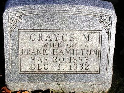 HAMILTON, GRAYCE M. - Madison County, Iowa   GRAYCE M. HAMILTON