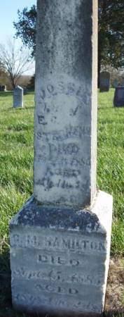 HAMILTON, GEORGE M. - Madison County, Iowa | GEORGE M. HAMILTON