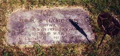 HAMILTON, MURL B. - Madison County, Iowa   MURL B. HAMILTON