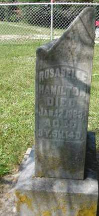 HAMILTON, ROSABELLE - Madison County, Iowa | ROSABELLE HAMILTON