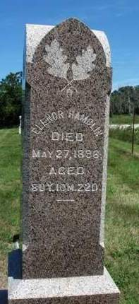 HAMBLIN, ELENOR - Madison County, Iowa   ELENOR HAMBLIN