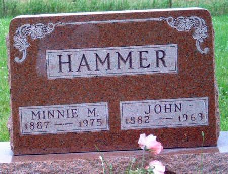 HAMMER, MINNIE MAUDE - Madison County, Iowa | MINNIE MAUDE HAMMER