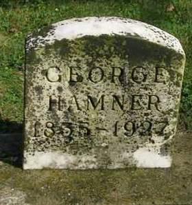 HAMNER, GEORGE - Madison County, Iowa | GEORGE HAMNER