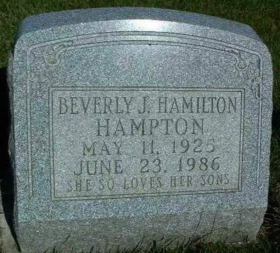 HAMPTON, BEVERLY JEANE - Madison County, Iowa | BEVERLY JEANE HAMPTON