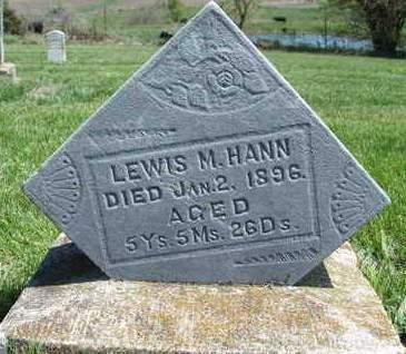 HANN, LEWIS M. - Madison County, Iowa   LEWIS M. HANN