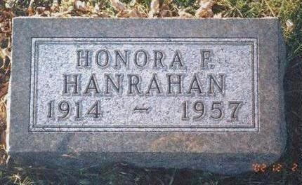 HANRAHAN, HONORA F. - Madison County, Iowa | HONORA F. HANRAHAN
