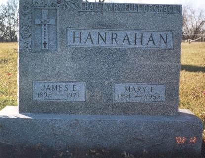 HANRAHAN, MARY E. - Madison County, Iowa   MARY E. HANRAHAN