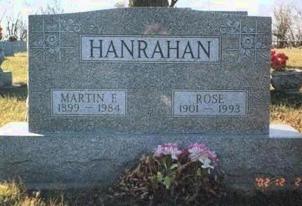 HANRAHAN, MARTIN F. - Madison County, Iowa | MARTIN F. HANRAHAN