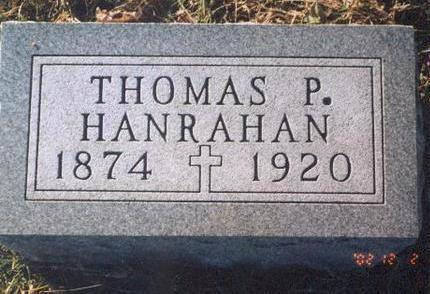 HANRAHAN, THOMAS P. - Madison County, Iowa | THOMAS P. HANRAHAN