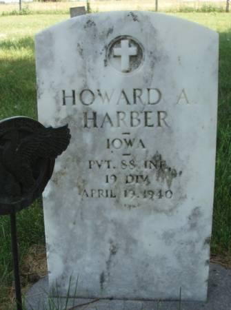 HARBER, HOWARD ALTON - Madison County, Iowa | HOWARD ALTON HARBER