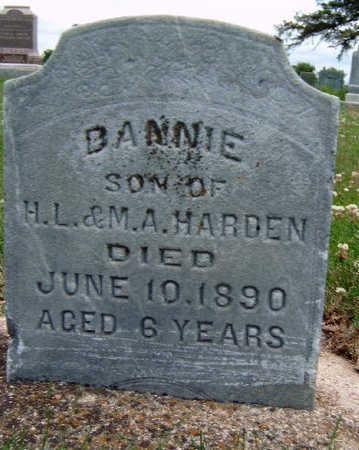 HARDEN, DANNIE - Madison County, Iowa | DANNIE HARDEN