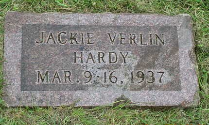 HARDY, JACKIE VERLIN - Madison County, Iowa   JACKIE VERLIN HARDY