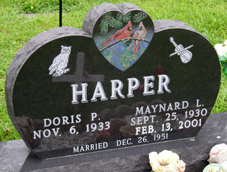 HARPER, DORIS PAULINE - Madison County, Iowa | DORIS PAULINE HARPER