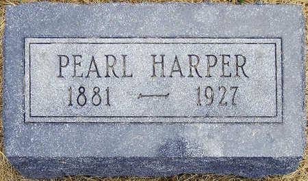 HARPER, PEARL REBECCA - Madison County, Iowa   PEARL REBECCA HARPER